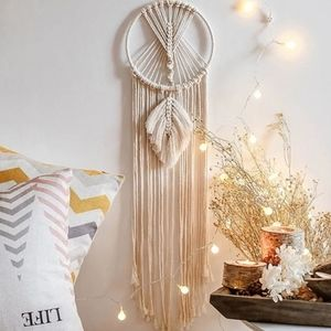 Cotton woven wall hanging tapestry macrame…